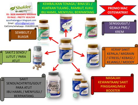Vitamin Ostematrix sihat itu nikmat health bisnes family kalsium dan