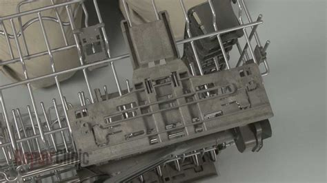 kitchenaid dishwasher rack adjuster replacement wpw youtube