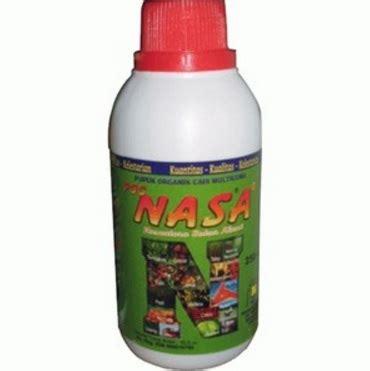 Pupuk Bunga Nasa pupuk organik cair poc nasa 500ml jual tanaman hias