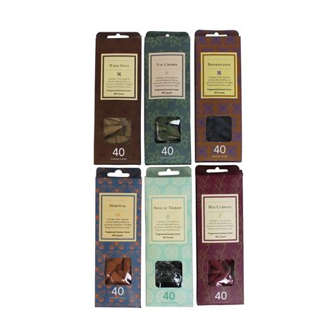 Incense Cone Assorted darshan incense cone collection assorted