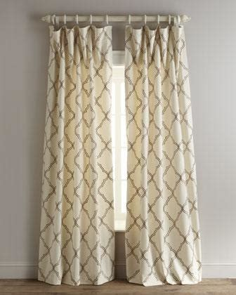 Blue And Ivory Curtains Elysian Curtains Neiman