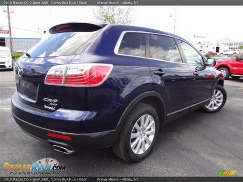 2010 mazda cx 9 sport 2010 mazda cx 9 sport awd blue mica black photo