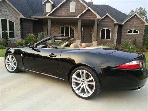 sell used 2007 jaguar xk base convertible 2 door 4 2l in