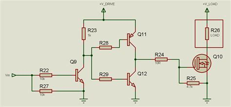transistor driver ckt tahmid s low side mosfet drive circuits and techniques 7 practical circuits
