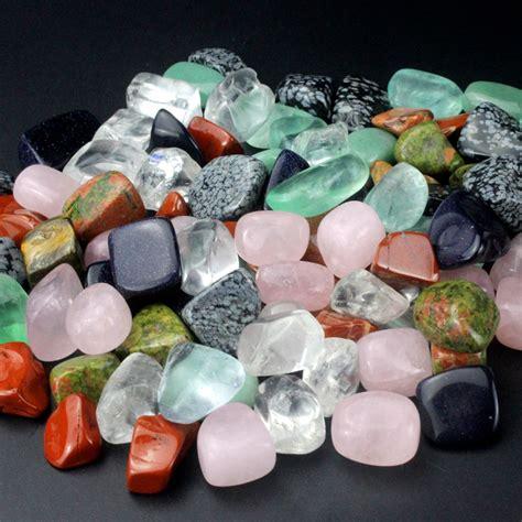 1 2lb 228g bulk wholesale assorted mixed gemstone rock