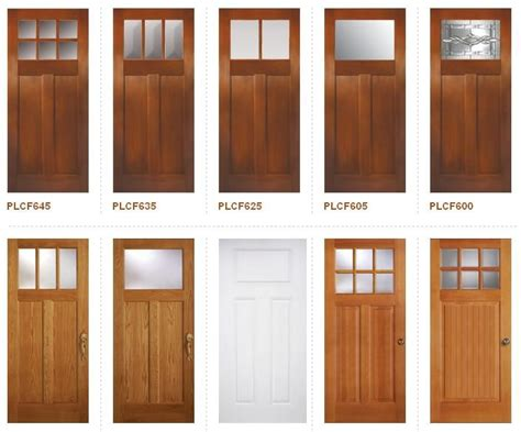 Interior Door Styles For Homes by Craftsman Style Doors Craftsman Bungalo Foursquare