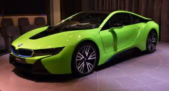 bmw i8 colors seen a lime green bmw i8 before