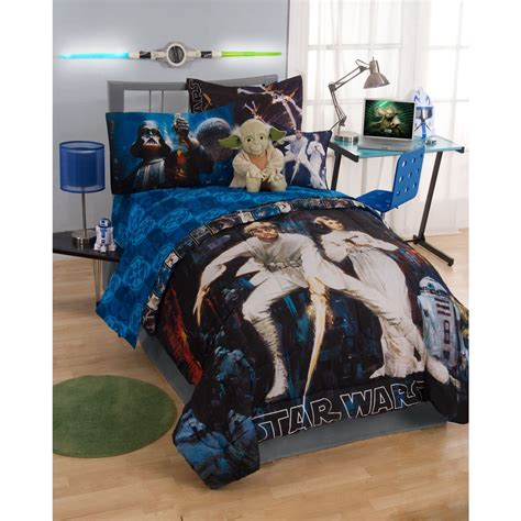 star wars bed set star wars sheet set