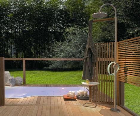 gartendusche ideen gartendusche sichtschutz ideen f 252 r die outdoor dusche
