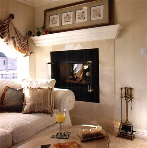 Raised Fireplaces by Raised Fireplace Family Room New York By American
