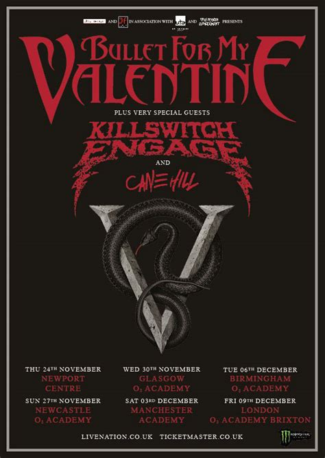 bullet for my tour bullet for my valentine s support acts announced mxdwn co uk