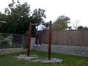 First set on my new home made outdoor pull up bar youtube