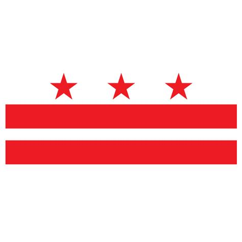 Search District Of Columbia District Of Columbia Vector Flag At Vectorportal