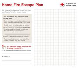 home safety plan template your home escape plan central south region