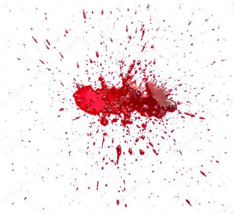 id blood stain 171 got tache de sang 233 clabouss 233 sur fond blanc photographie