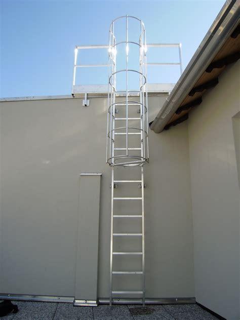 scala con gabbia metalsystem scale alla marinara con gabbia