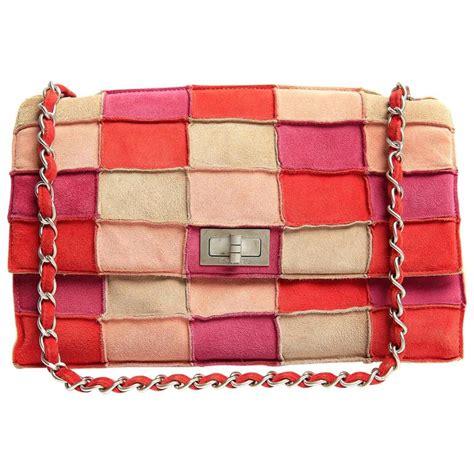 Patchwork Chanel Bag - chanel pink suede patchwork flap bag multi color at 1stdibs