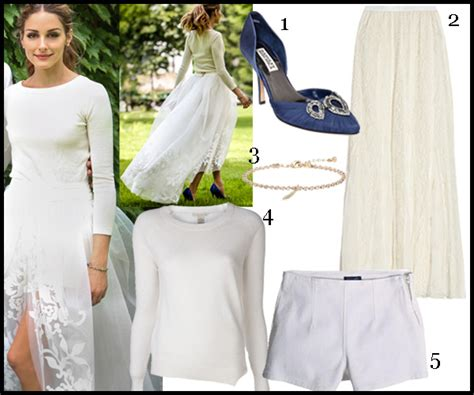 hochzeitskleid olivia palermo palermo s three piece wedding dress news style