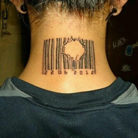 barcode tattoo fail 64 best tattoos images on pinterest tattoo ideas