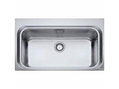 lavello franke acciaio lavello a una vasca da incasso in acciaio inox aex 610 by