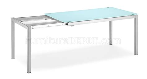 glass top dining table with extension