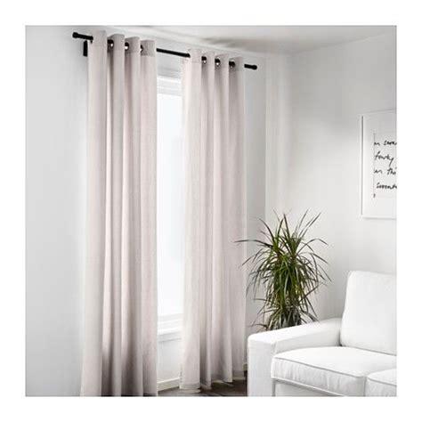 thick curtains for winter merete rideau 2 panneaux 145x300 cm ikea beige 49