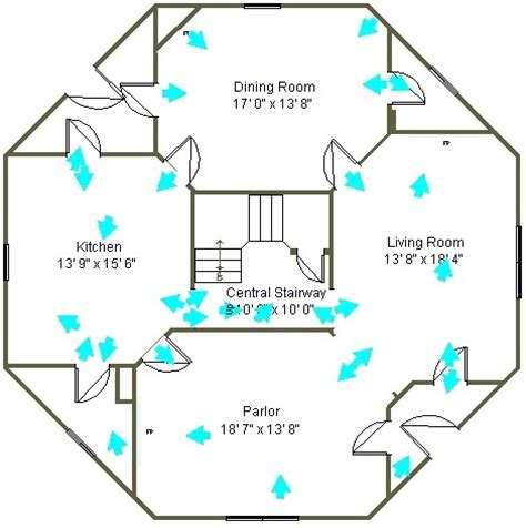 octagon cabin floor plans 47 best images about octagon houaes on pinterest cottage