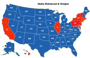 Virginia Concealed Carry Reciprocity Map by Idaho Firearms Classes Idaho Concealed Carry Permits And