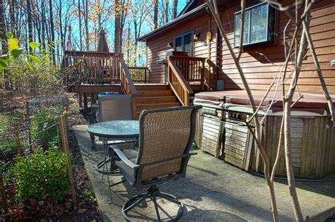 decks patios and porches rustic deck dc metro by mdv remodeling