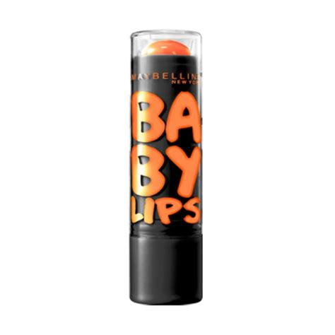 Produk Maybelline Baby jual maybelline baby electro orange lip balm