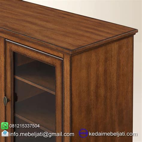Tempat Tidur Bufet Minimalis Mebel Jepara Jual Bufet Tv Simple Minimalis Bahan Kayu Jati Jepara