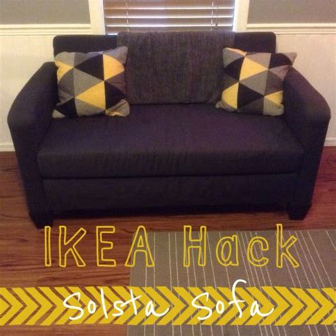ikea couch hack ikea hack solsta sofa bed home decor pinterest ikea