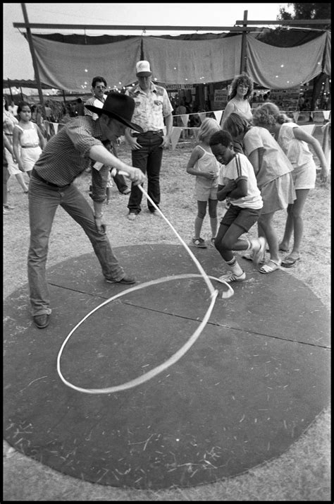 [Kevin Fitzpatrick Demonstrating Trick Roping] - The