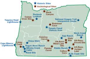 caves in oregon map oregon cultural and trails oregon washington blm