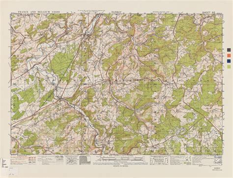 belgium topographic map belgium ams topographic maps perry casta 195 177 eda map