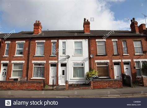 buy house in england terraced houses in arnold nottingham england u k stock photo royalty free image