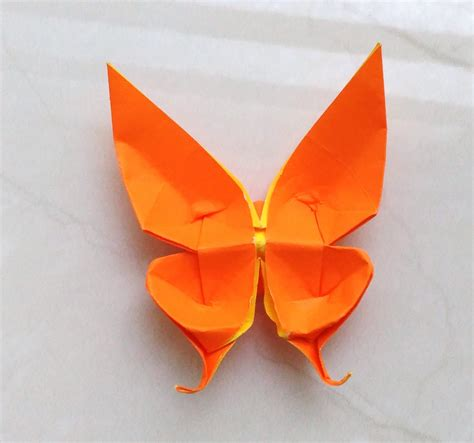 Butterfly Paper Folding - origami