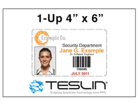 teslin id card template how to make id using teslin paper 1up sheets