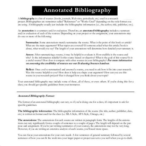 slides note card template for annotated bibliography free annotated bibliography ppt template