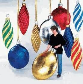 oversized christmas ornaments from outdora oh christmas
