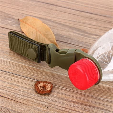 Buckle Hook Botol Minum Edc Backpack Hanger Sale New Outdoor Tactical Webbing Buckle Hook Water Bottle Holder Clip Edc Climb