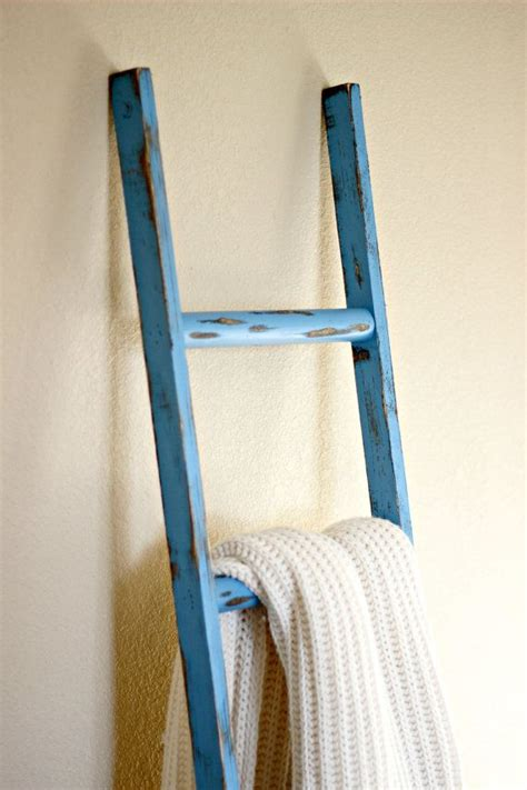 Decorative Ladders by Blue Rustic Decorative Ladder Great Accent As A