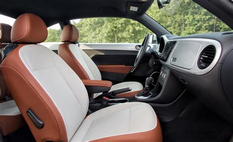 Vw Beetle Interior by Car And Driver