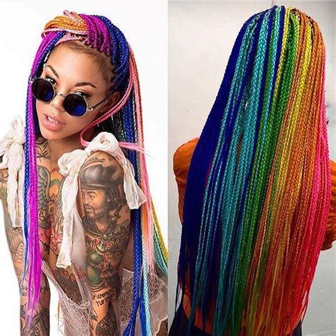 box braids color ideas the 25 best ideas about colored box braids on pinterest
