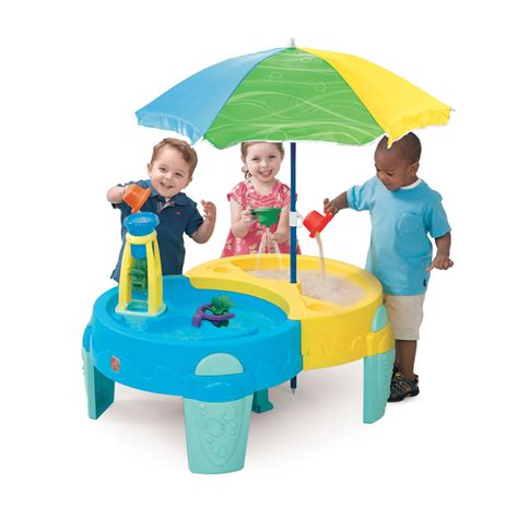 step2 shady oasis sand and water table shady oasis sand water play table sand water step2