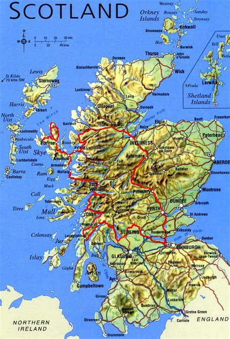 scottland map scotland 2005 federico cozzi