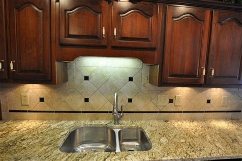 kitchen backsplash ideas for granite countertops granite countertops and tile backsplash ideas eclectic kitchen indianapolis by supreme