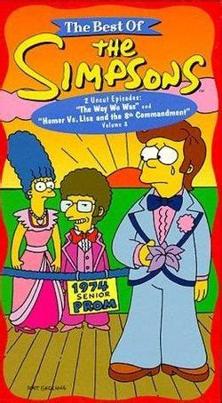 S A Volume 8 the best of the simpsons volume 8 wikisimpsons the