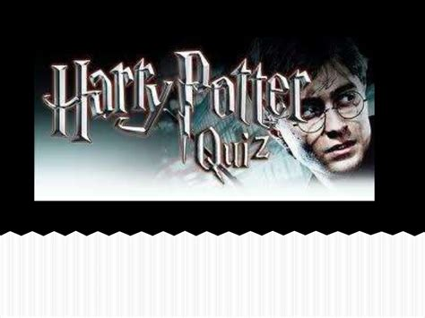 harry potter test harry potter quiz