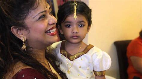 sruthi heera quot s ear piercing ceremony